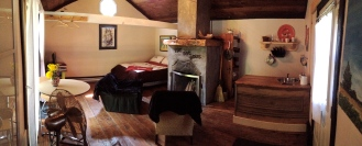 Panorama of the cabin